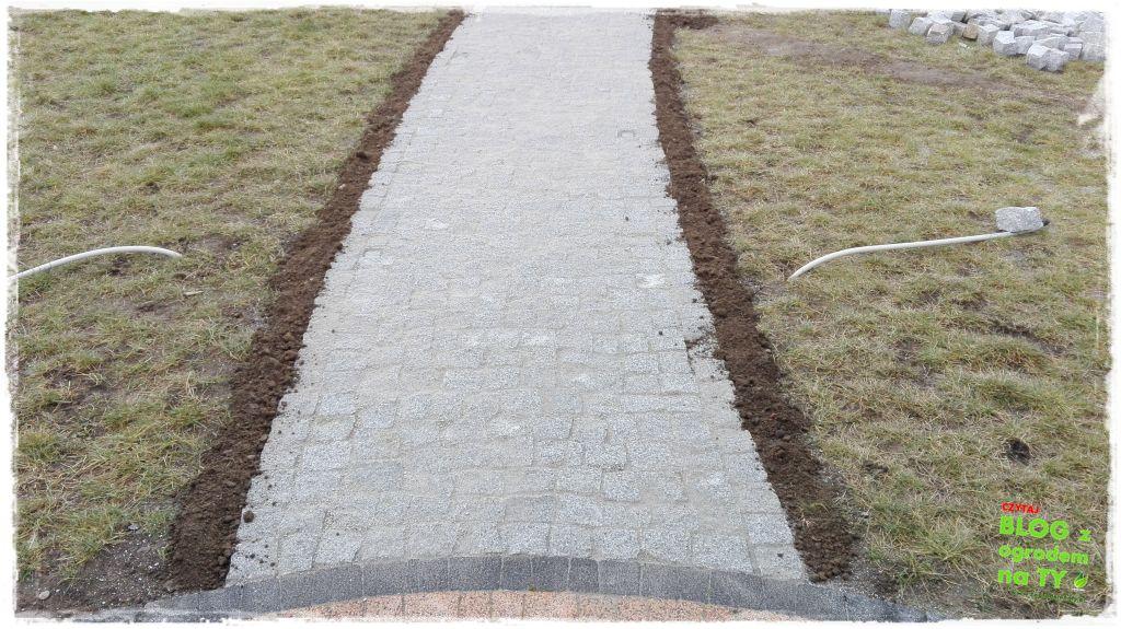 chodnik z kostki granitowej zogrodemnaty87
