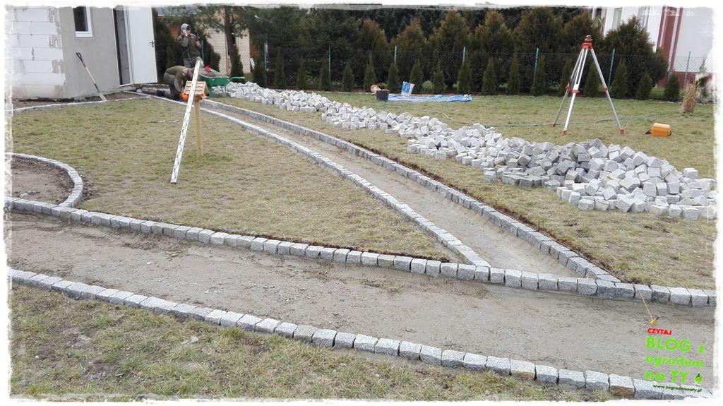 chodnik z kostki granitowej zogrodemnaty61