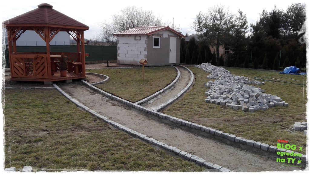 Aktualne Chodnik z kostki granitowej. Zrób to sam – część 3. - z ogrodem na TY QK91