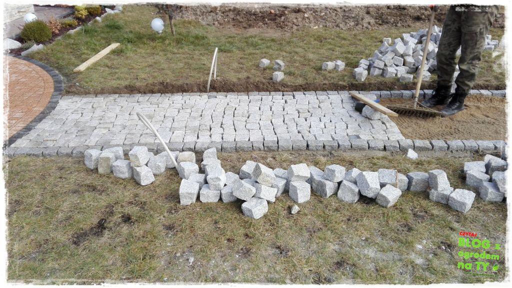 chodnik z kostki granitowej zogrodemnaty73