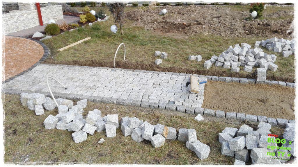 chodnik z kostki granitowej zogrodemnaty74