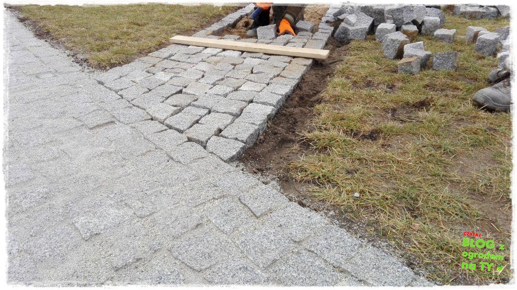chodnik z kostki granitowej zogrodemnaty84